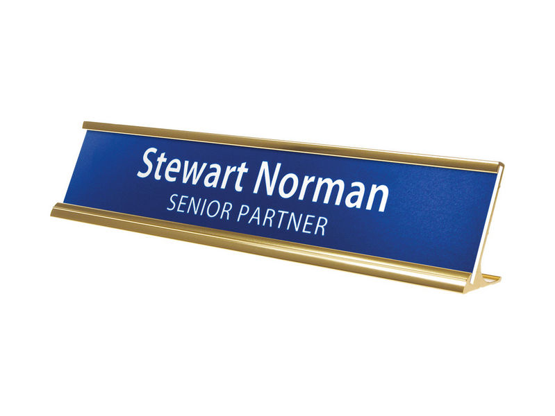 custom nameplates and identification nameplates by wilson trophy
