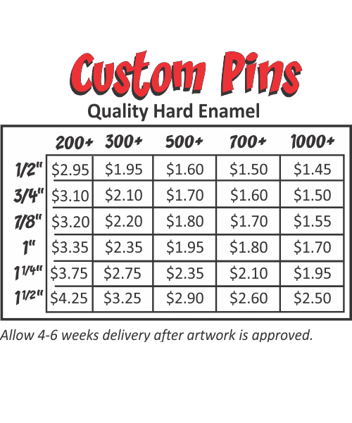 Custom Hard Enamel Pins | Wilson Trophy